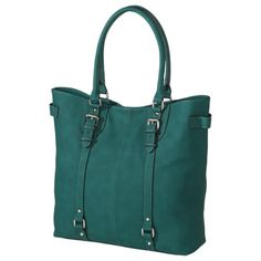 Merona® Solid Tote - Green  $34.99