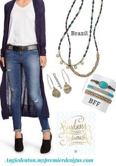 Premier Designs Spring 2017 Brazil, BFF Facebook.com/CiboloJewelryLady