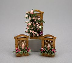 Patricia A. Brehm-Nash of Pat's Bloomers has been making quarter-scale flowers for about 25 years. She began by making one-inch and half-inc...