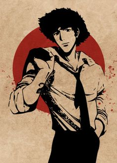 Spike Spiegel cowboy bebop by Everything Anime Film Cowboy, Cowboy Bepop, Cowboy Bebop Tattoo, Cowboy Bebop Anime, Cowboy Bebop Quotes, Spiegel Tattoo, Cowboy Bebop Wallpapers, Manga Anime, Anime Art