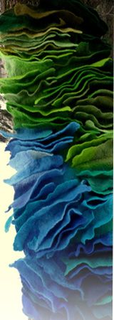 An extraordinary fibre artist...see what she does with felt.
