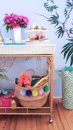 Get ready for summer soirees with Jack Rogers' biggest giveaway yet! Enter here http://woobox.com/trythd to win our fabulous Madison Mixer bar cart and a $500 gift certificate to JackRogersUSA.com!