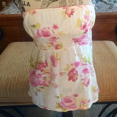Strapless top size m/l Strapless top size m/l Tops Blouses
