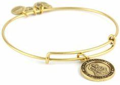 "Alex and Ani Bangle Bar ""St. Anthony"" Russian-Gold Expandable Bracelet Alex and Ani. $28.00"