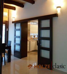 Wooden Windows, Windows And Doors, Interior Modern, Design Case, Rustic Modern, Indoor, Bed, House, Furniture