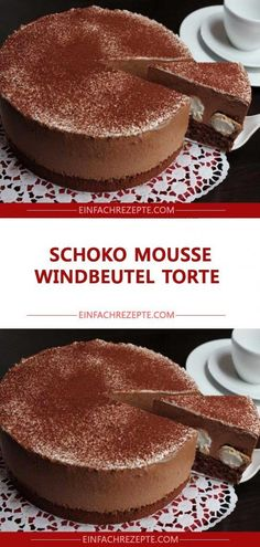 Schoko Mousse Windbeutel Torte 😍 😍 😍 You are in the right place about caja de Chocolate Here we offer you the most beautiful pictures about the dairy milk Chocolate you are looking for. Beef Pies, Mince Pies, Cream Puff Cakes, Cake Recipes, Dessert Recipes, Dessert Blog, Lemon Desserts, Tapas, Flaky Pastry