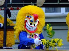 Basler Fasnacht, or as you foreigners say: carneval. The Waggis is the typical symbol Basel, Carnival, Poster, Symbols, Fur, Fictional Characters, Europe, Switzerland, Sketches