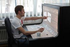 BendDesk: espacios de trabajo multitáctiles en un futuro no muy lejano.