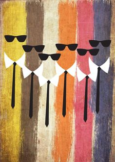 Reservoir dogs Reservoir dogs Gallery quality print on thick / metal plate. Tarantino Films, Quentin Tarantino, Reservoir Dogs Poster, Badass Movie, Indie Movies, Art Movies, Dog Poster, Minimal Movie Posters, Alternative Movie Posters