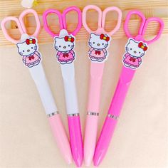 Hello Kitty Ballpoint Pen Creative Scissors