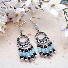 Bohemian Earrings For Women  Boho Gypsy Earrings For Women @SolanaKaiDesign #BMECountdown #MothersDayGift #Jewelry