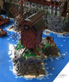 Windmühle auf den Klippen vor Grimmhavn 2 | by THE BRICK TIME Team