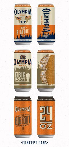 Olympia Beer Can.  Bought this a few months ago only because of how much I liked their can designs. -Dan