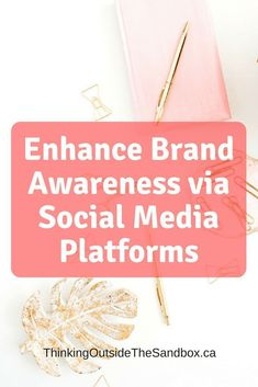 Enhance Brand Awareness via Social Media Platforms Social Media Icons, Social Media Tips, Facebook Marketing, Content Marketing, Media Marketing, Starting Your Own Business, Virtual Assistant, Blog Tips, Cover Photos