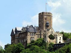 Burg Lahneck, Rhinevalley, Germany  this was one of the very last refuges the Templars used