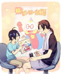 Tags: Anime, Fanart, Bakuman。, Mashiro Moritaka, Tanio
