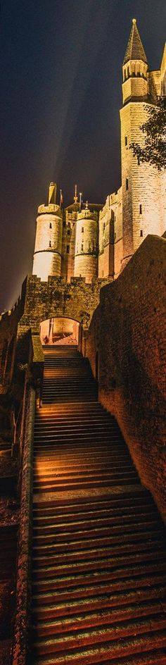 "Stairs to the castle - from the Exhibition: ""Cropped for Pinterest"" - photo from  Trey Ratcliff at www.StuckInCustom..."