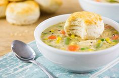 Slow Cooker Chicken Pot Pie (using previously slow-cooked--3-4 hrs on high; 6-8 hrs on low--and shredded chicken breasts)