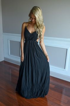 All Ruffled Up Maxi Dress ~ Black – The Pulse Boutique