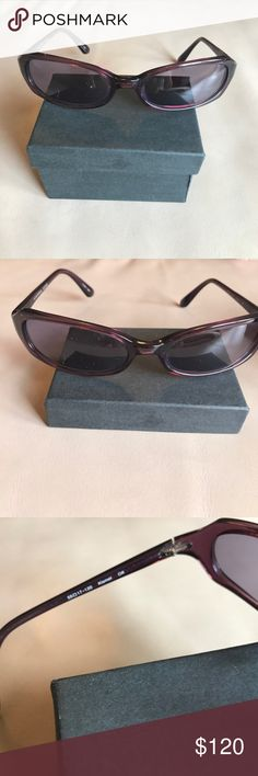 Purple Oliver Peoples sunglasses. Excellent condition. I'm neurotic about my sunglasses! 🕶 Oliver Peoples Accessories Sunglasses