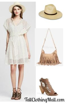Tall Eyelet Dress and Outfit -