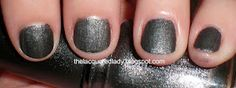 thelacqueredlady.blogspot.com - China Glaze Stone Cold, Colors from the Capitol (Hunger Games) Collection