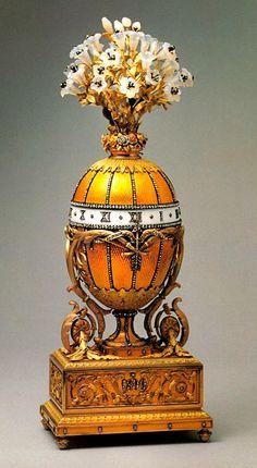 Mezcla Tostado Oscuro: Rusia Imperial huevos de Fabergé