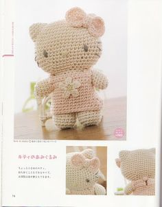 Hello Kitty Amigurumi - FREE Crochet Pattern / Tutorial