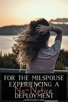For the Milspouse Experiencing a No-Notice Deployment Military Deployment, Military Spouse, Military Families, Life Plan, Feeling Alone, Significant Other, Coast Guard, Marines, Long Distance