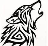 Celtic wolf*vector*