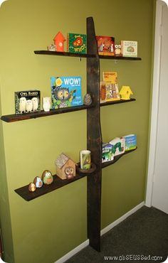 obSEUSSed: Celebrate Dr. Seuss by Creating a Library. Tree Shelf for Owl Books