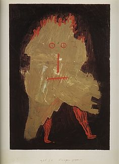 Paul Klee 'Ragged Ghost' 1933