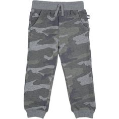 Splendid Little Boy Camo Pant ($56) ❤ liked on Polyvore featuring olive