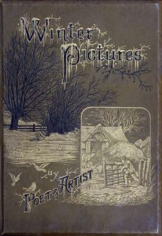 Front cover from Winter pictures, collective work, London, not dated (c. 1875?).    (Source: archive.org)