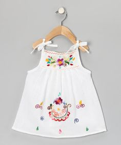 Take a look at this White Lolita Dress - Infant, Toddler & Girls by Little Cotton Dress on #zulily today!