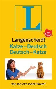 Langenscheidt Katze-Deutsch/Deutsch-Katze-Buch