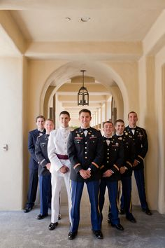 Military men looking sooo stylish...