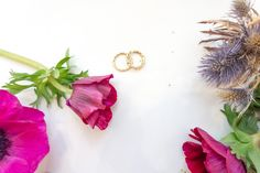 Beautiful things sometimes come in a pair. It is really great to have someone to share the good times with. This one of a kind rings in gold are made by Lena Grabher. Good Times, Beautiful Things, Wedding Rings, Stud Earrings, Artist, Gold, Jewelry, Instagram, Jewerly