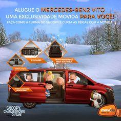 Exclusividade pra você na #MovidaRentACar! ;)  Alugue o Mercedes-Benz Vito e leve toda a família para curtir as férias.  Alugue AGORA: www.movida.com.br