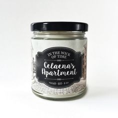 Celaena's Apartment  Scented Vegan Soy Candle  by IntheWickofTime