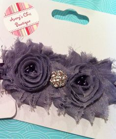 Baby girl headband newborn headband toddler by AverysChicBoutique, $10.00