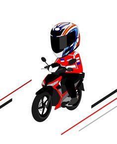 10 Best Supra Cartoon Images Supra Cartoon Yamaha Nmax