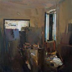 "Saatchi Art Artist Carlos San Millan; Painting, ""Interior #109 (L'atelier)"" #art"