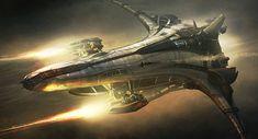 concept ships: Spaceship by Emmanuel Shiu