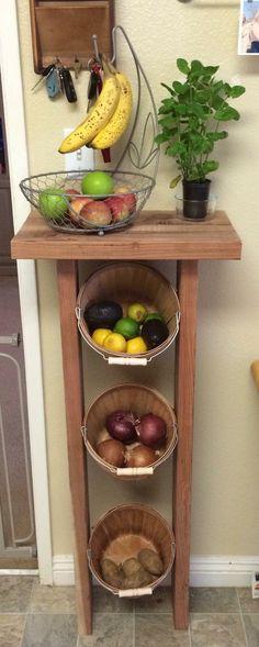 DIY fruit/veggie holder