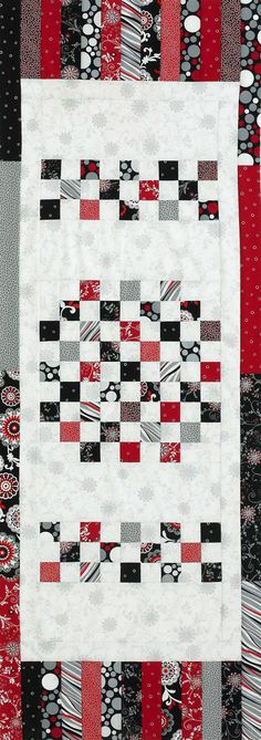 Squares and Strips (checkerboard)