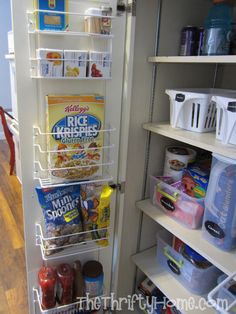 *The Thrifty Home: Simple Solutions to Organize a Deep Pantry