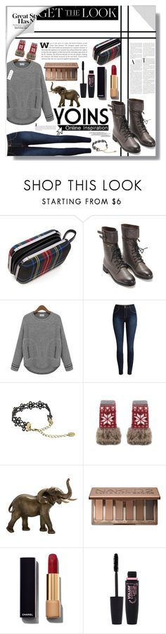 """""""Get the Look!✨"""" by lolashx ❤ liked on Polyvore featuring La Femme, Pointer, Universal Lighting and Decor, Urban Decay, Chanel and Maybelline"""