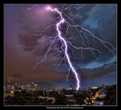 Wow! Sydney summer lightning storm -1.5.12