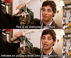I'd love to meet this actor!  27 Dresses (2008) - Quotes #27dresses #27dressesquotes